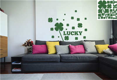 St Patricks Wall Vinyl